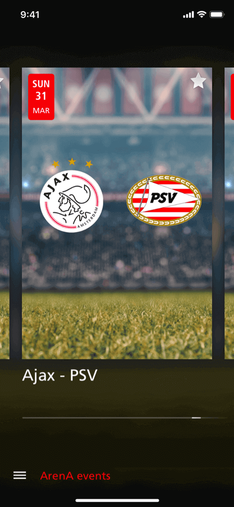 Johan Cruiff ArenA app Coffee IT