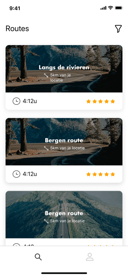 MotoTour navigatie app Coffee IT