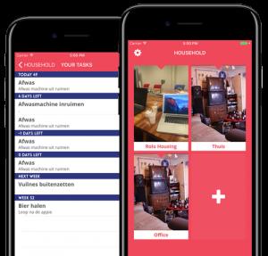 Schoonmaakrooster app