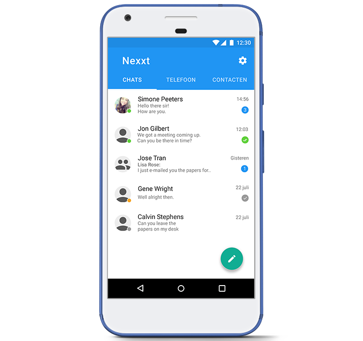 Chat app ClearVox Nexxt