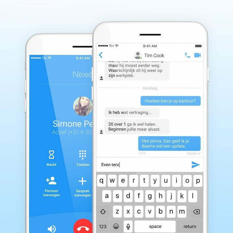 VoIP bel app