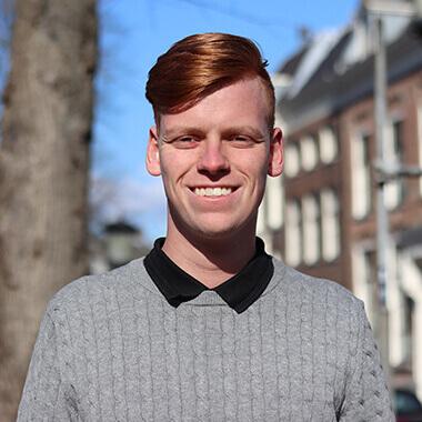 Martijn Blom Coffee IT web ontwikkelaar team foto