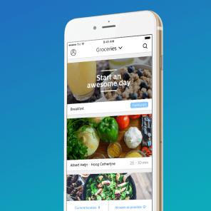 OrderTapp bezorg en bestel app