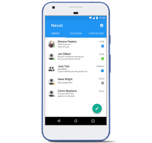 Voordelen in-house app
