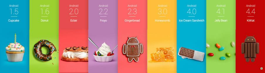 Android o version names