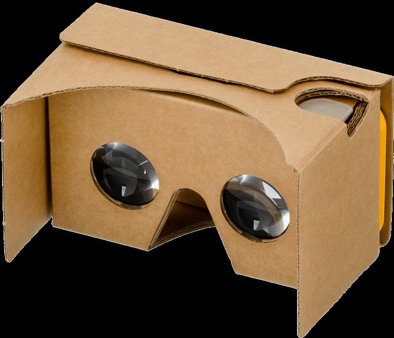 Google cardboard VR bril