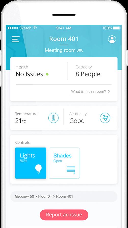 Gebouwautomatisering app ontwikkelen