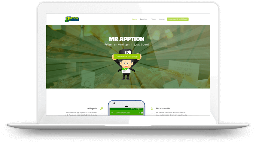 MrApption website