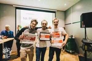 impact zero winnaar startup weekend utrecht-2017