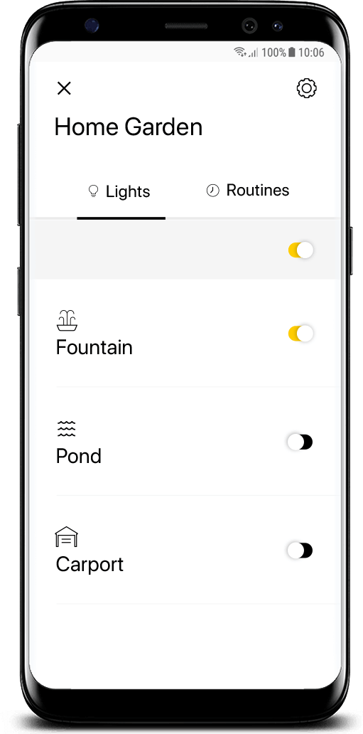in-lite tuinverlichting app