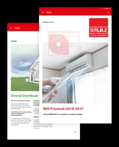 Stulz screens catalogus