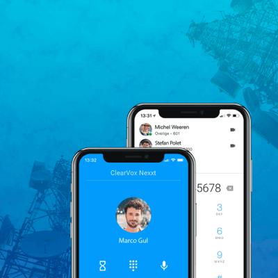 Clearvox nexxt app IoT VOIP