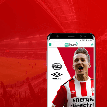 psv huldiging beacon app