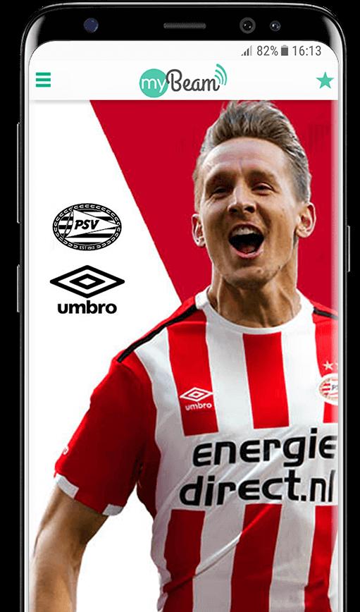 PSV MyBeam reclame