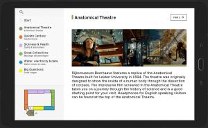 Rijksmuseum Boerhaave Tablet Android App