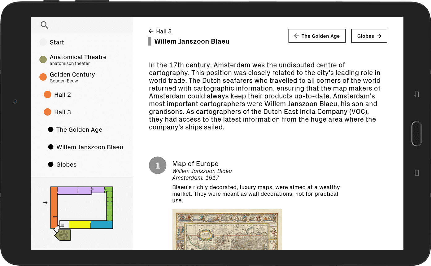 Rijksmuseum Boerhaave Tablet Android App Zone