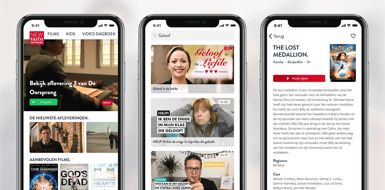 New Faith Network app
