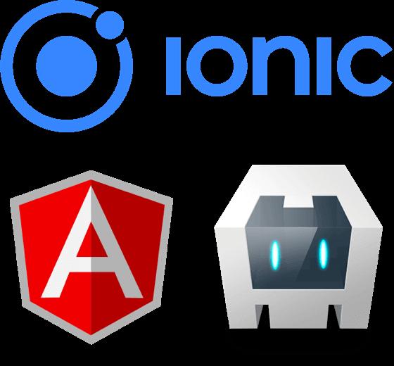ionic hybride ontwikkelaar icons