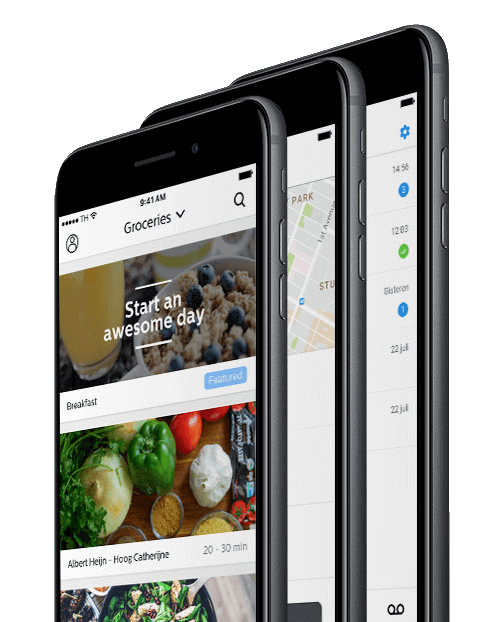 MVP app ontwikkeling voorbeeld