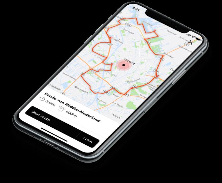 iOS native app mototour