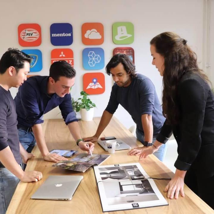 Coffee IT teamoverleg app ontwikkeling