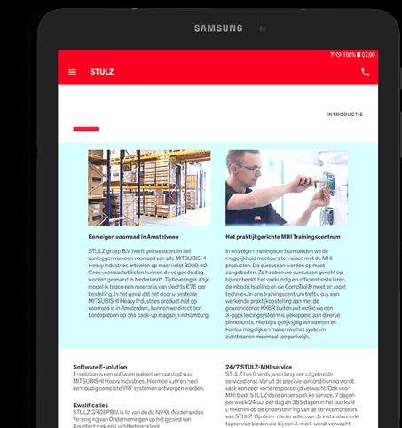 Android app laten maken tablet
