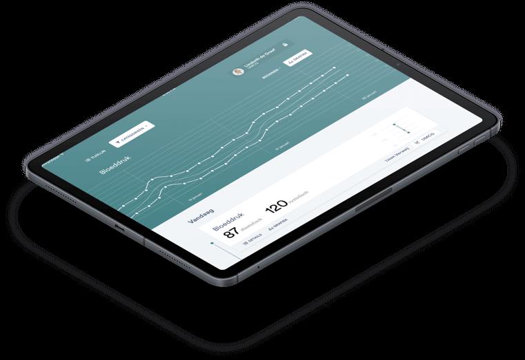 Lemon app Ipad interface