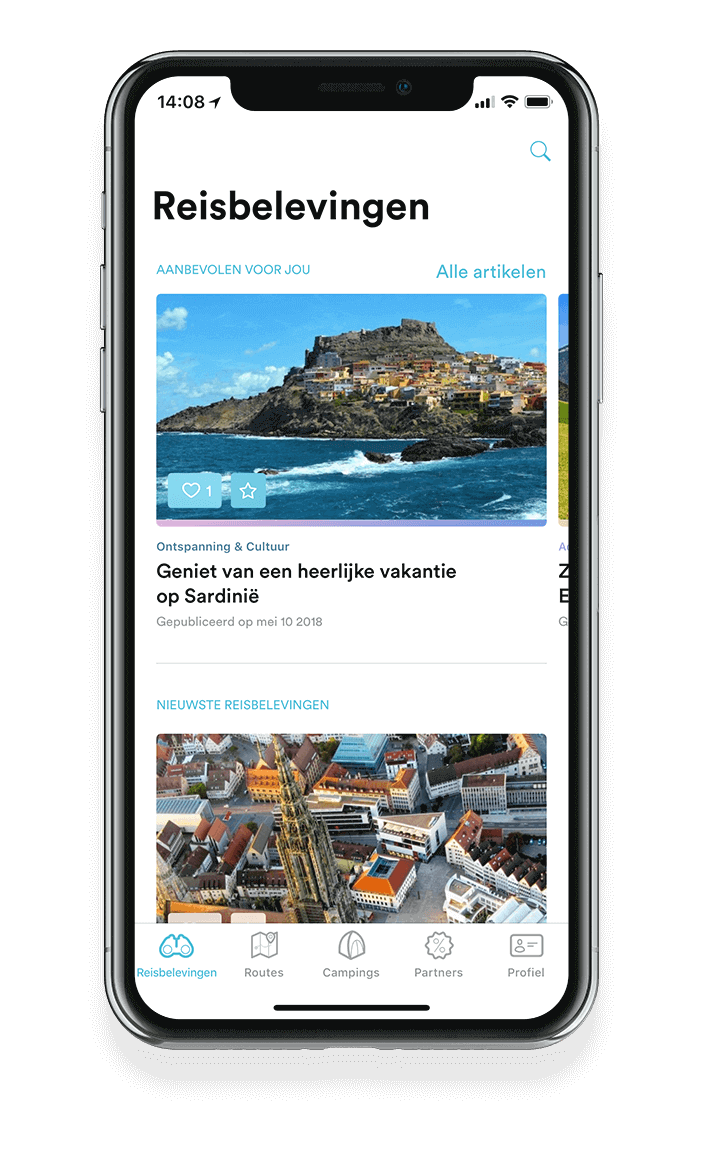 Doorontwikkelde app door Coffee IT