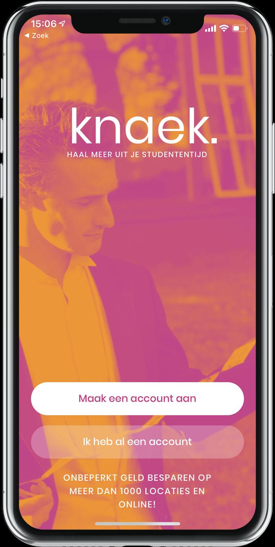 Knaek app installeren