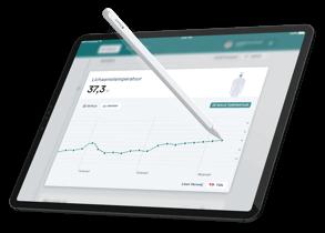 iPadOS app with Apple Pencil