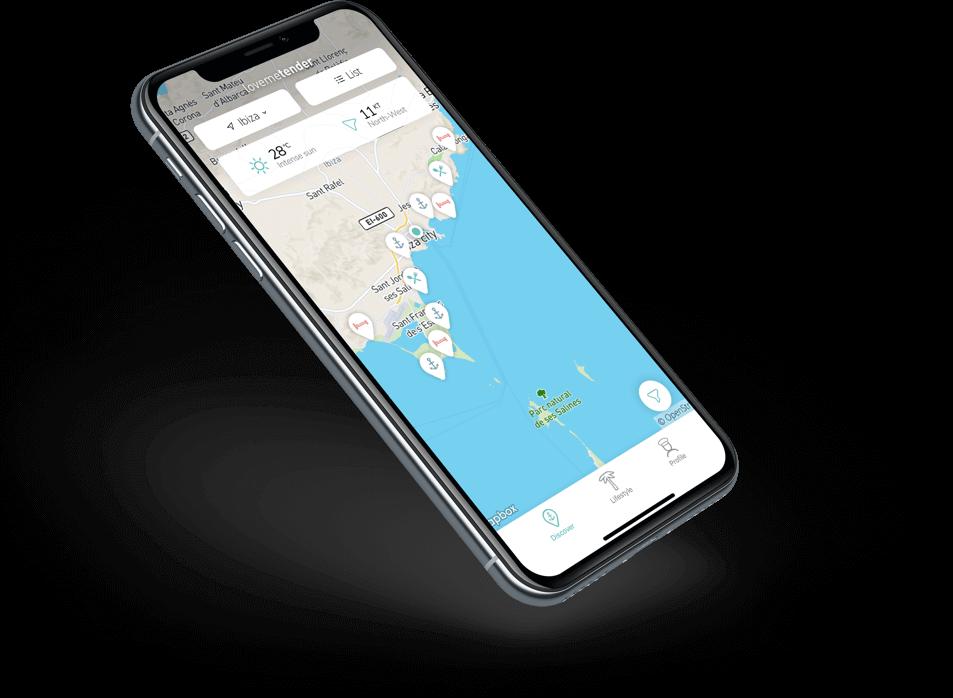 navigatie app Lovemetender