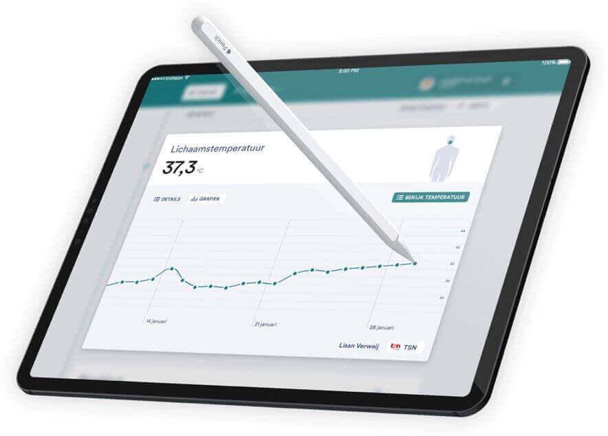 Zorg-app-iPad