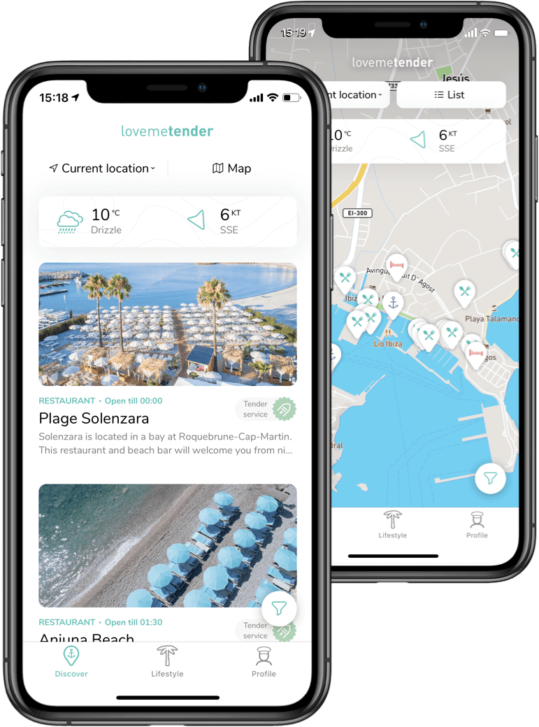 Lovemetender mockups native iOS app