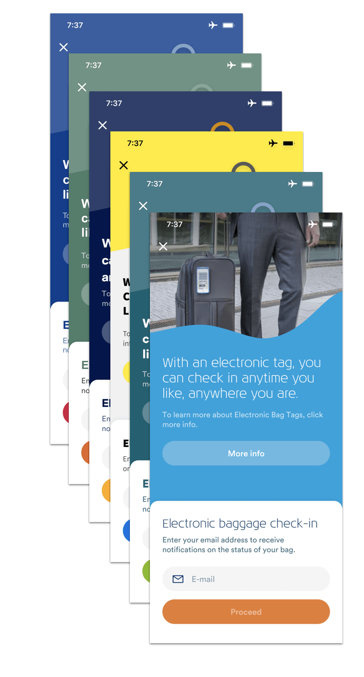 BAGTAG whitelabel app