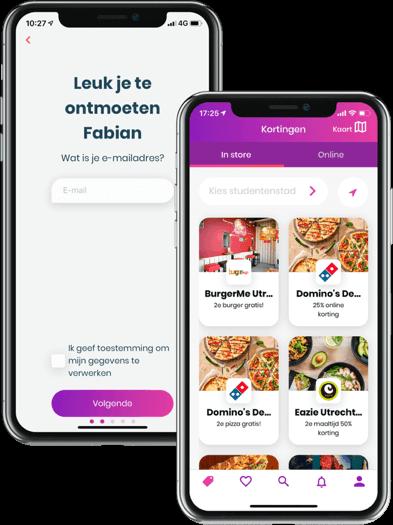 Commercie stage app ontwikkelaar