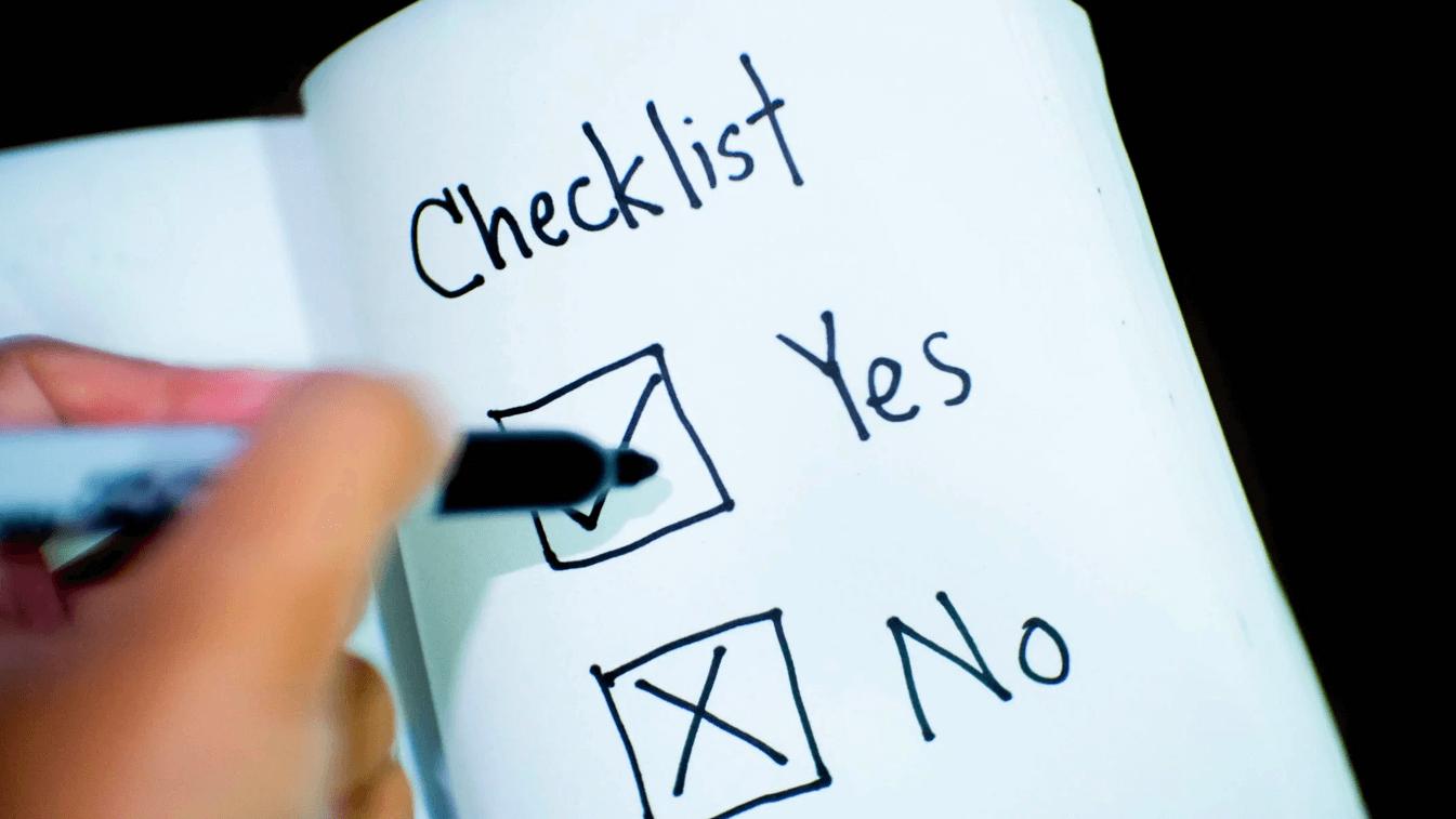 Checklist app laten maken