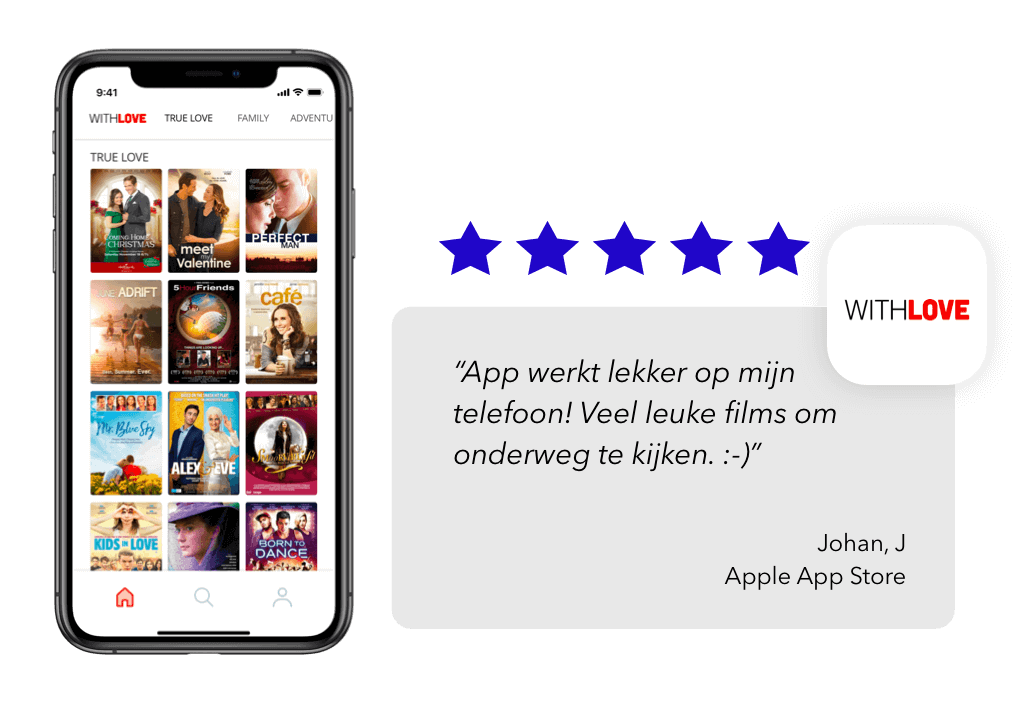 Review withlove app