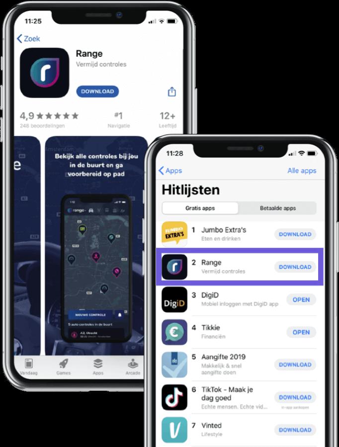 Succes Range app