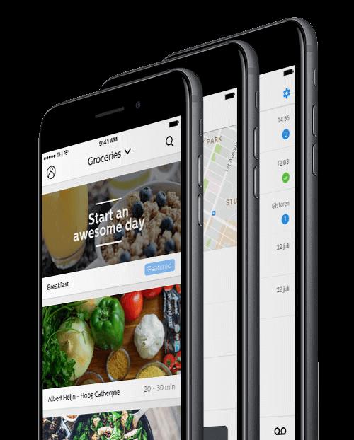 bestel app maken