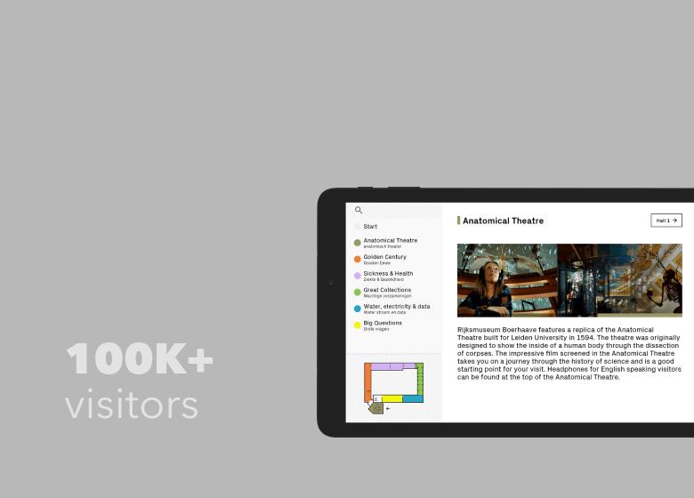 RIJKSMUSEUM BOERHAAVE web app
