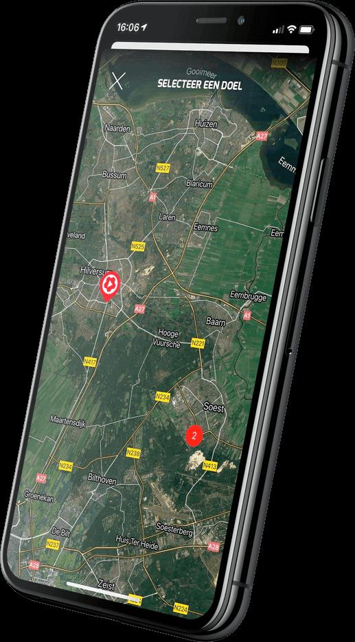 functies mobiele app shot on target