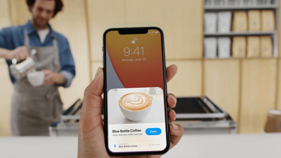 App Clips App Fragementen
