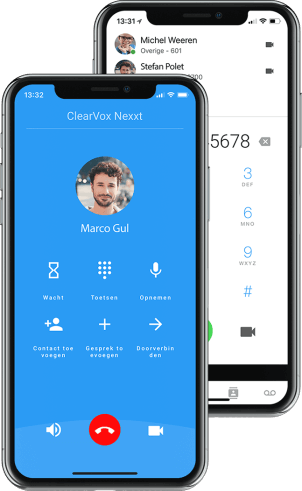 ClearVox nexxt app