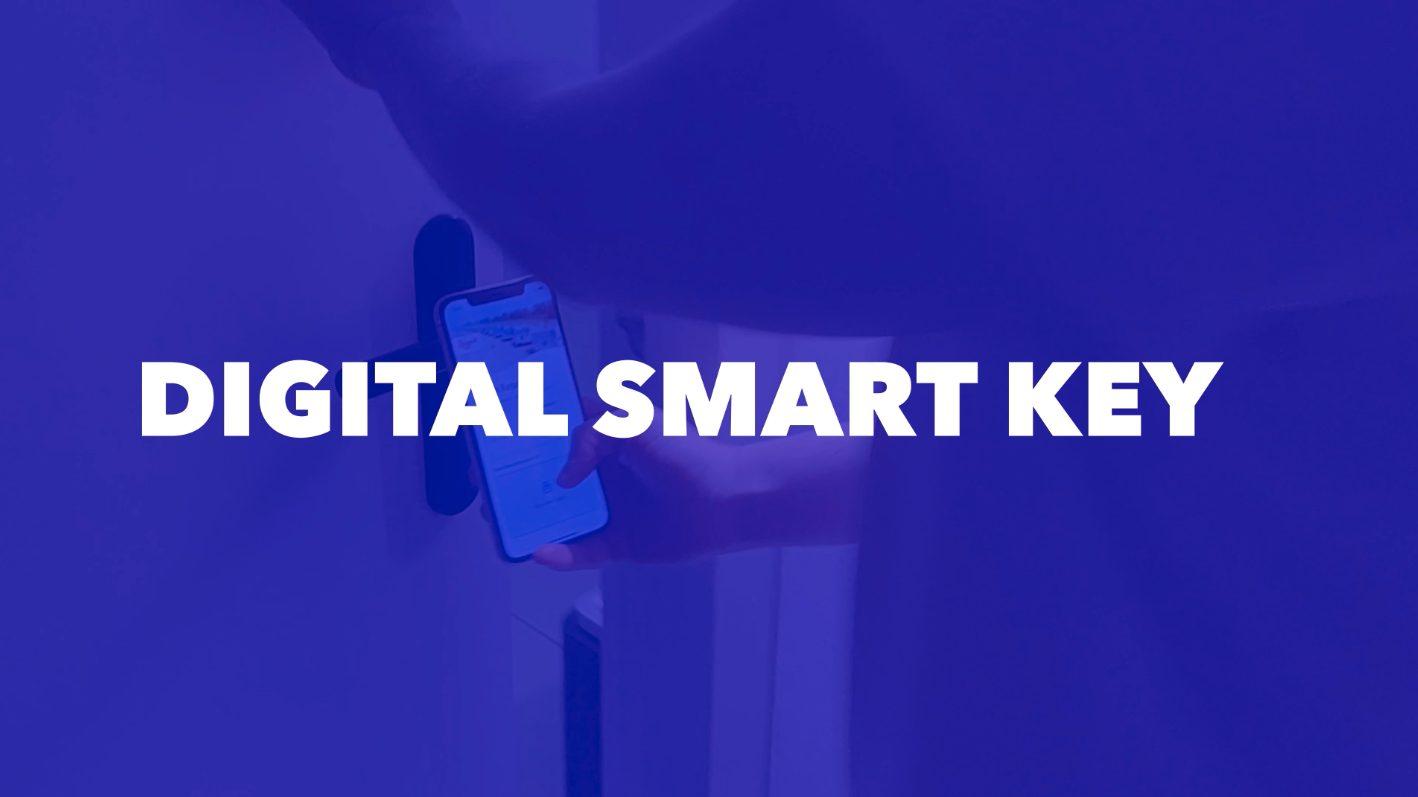 Digital smart key roompot