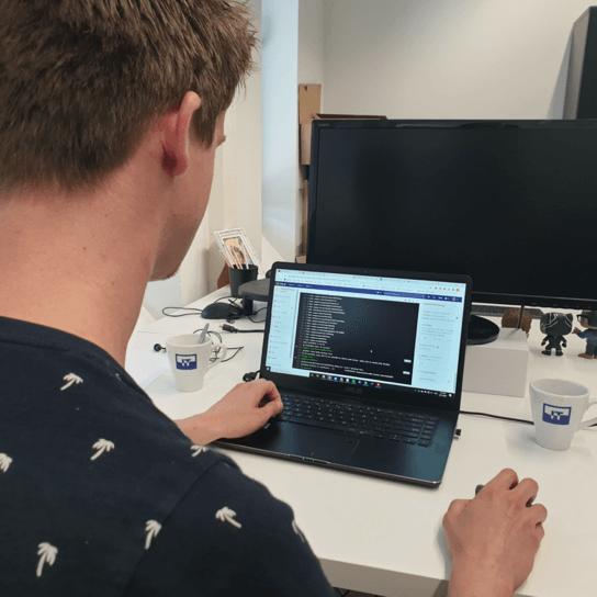 Ontwikkelaar Coffee IT android programmeren