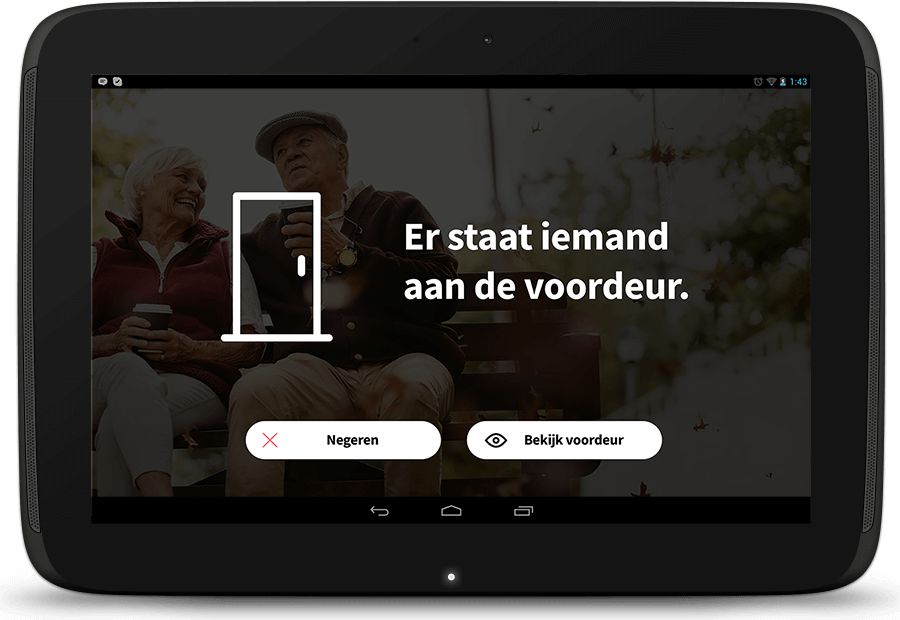 Senior Homes app slimme bel