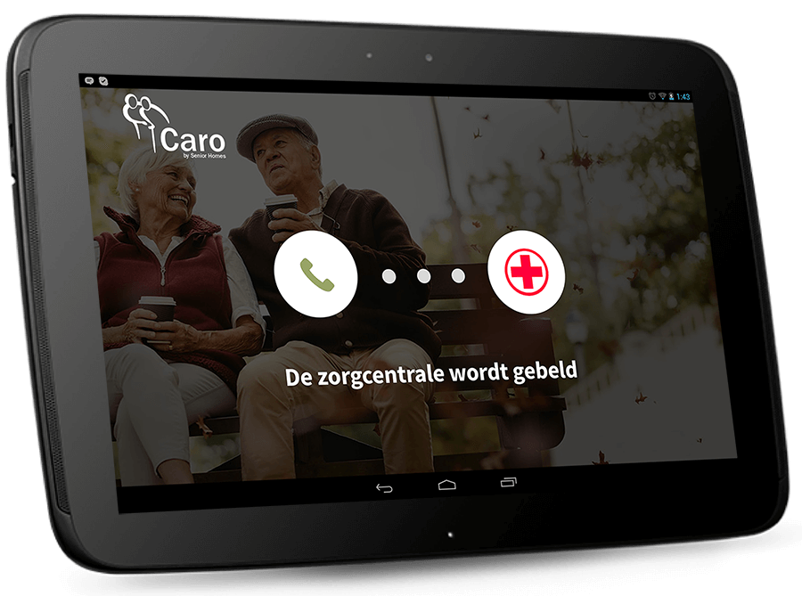 Senior homes app zorg app