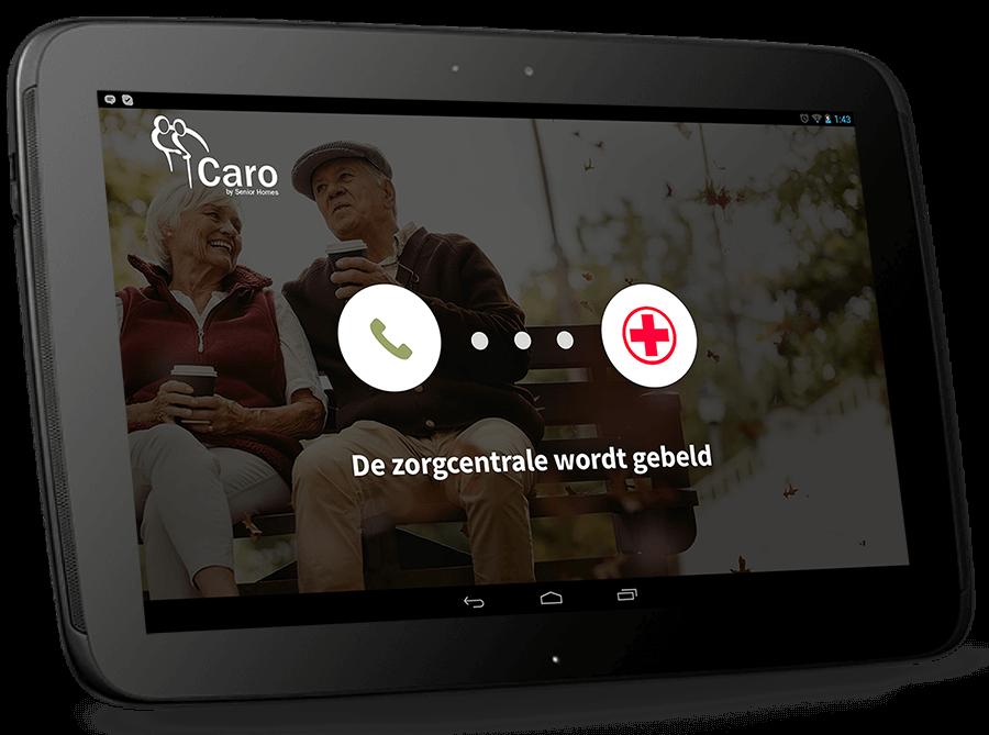 Senior homes app zorg app