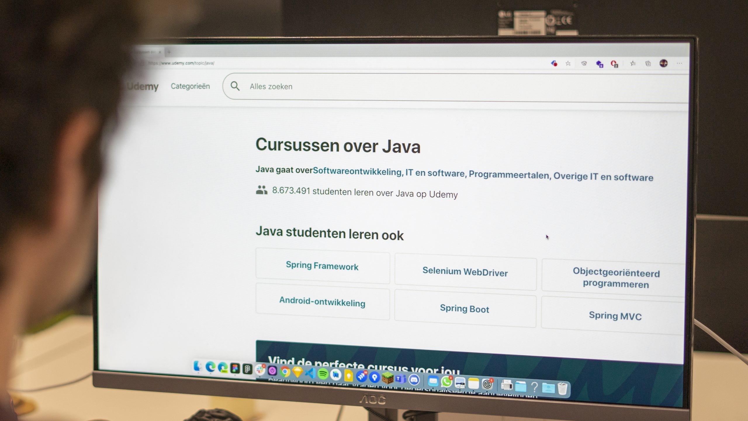 Platform of app ontwikkelen voor online lessen