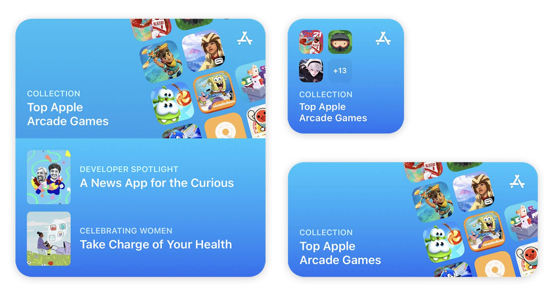 Apple App Store Widgets